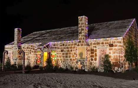 Record-Breaking Gingerbread Houses - The Traditions Club Gingerbread House is the Biggest Ever Built