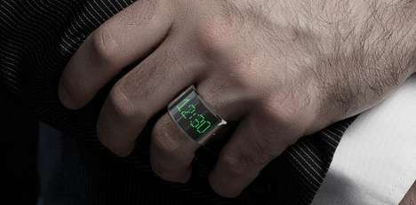 Smartphone-Controlling Jewelry - The Smarty Ring Lets You Control Your Phone from Your Ring Finger