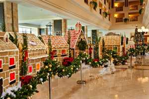 The JW Marriott Unveils a Life-Sized Gingerbread Village