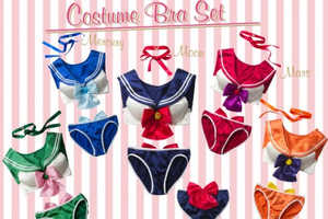 This Sailor Moon Lingerie is Oddly Accurate