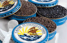 Luxe Airport Foods - Petrossian's Champagne Offers 'Caviar in the Air' for Posh Travelers