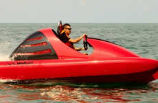 Aquatic Go-Karts - The Wokart is the Fast Buggy of Open Water