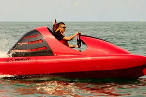 The Wokart is the Fast Buggy of Open Water