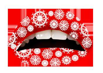 Temporary Holiday Lip Tattoos - Violent Lips