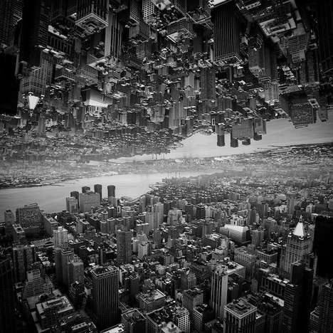 Inception-Inspired Cityscapes - Sloan Creates Stunningly Surreal Monochromatic Photographs