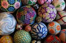 Kaleidoscopic Stitched Hand Balls