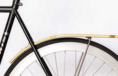 Wooden Bike Fenders