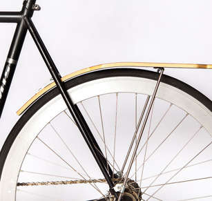Wooden Bike Fenders - Ruphus by Matt Rafael Offers Chic Custom Cycle Accessories