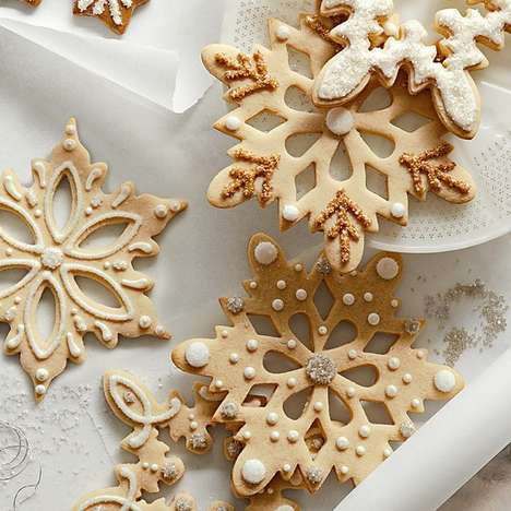 Intricately Festive Cookie Cutters - Christmas Cookie Cutters Will Make Your Kitchen Winter-Ready