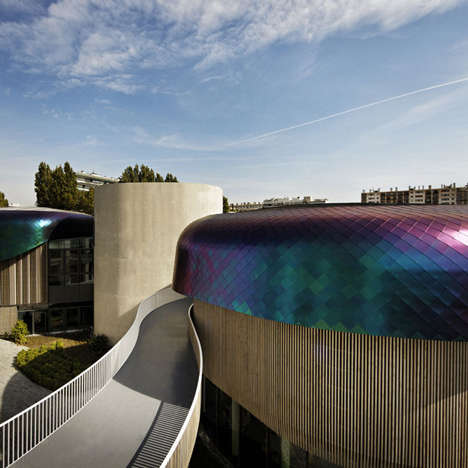 Dragon Scale-Inspired Roofing - Agence Jouin Manku