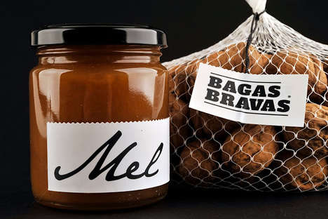 Simply Lovely Labelling - Bagas Bravas Packaging Marks Each Product Clearly in Cursive