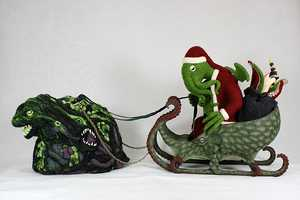 Be Good This Year, or Santa Claus Cthulhu Will Pay You a Visit