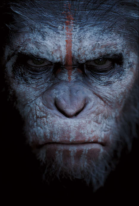 Angry Ape Movie Posters - The Planet of the Apes Poster Collection is Fierce and Aggressive