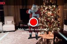 Convincing Santa Claus Apps - The 'Kringl' App Convinces Your Kids Santa is Real