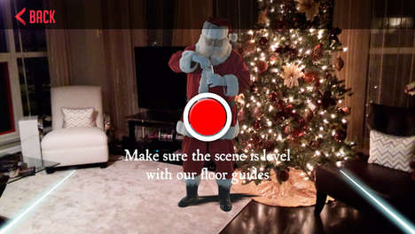 Convincing Santa Claus Apps - The 'Kringl' App Convinces Your Kids Santa is Real