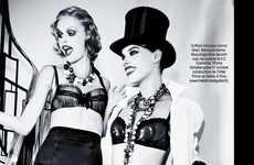 Glamorous Cabaret Editorials
