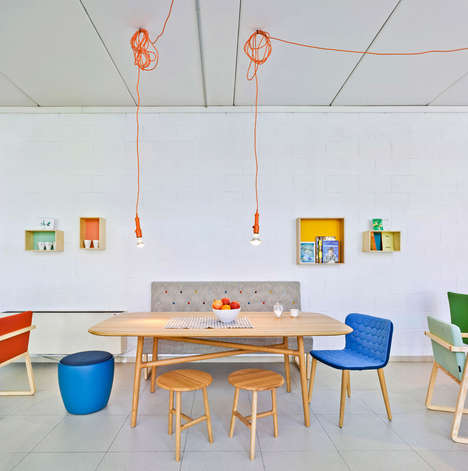 Playful Workplaces - Sancal Celebrates 40th Birthday with an Office Redesign
