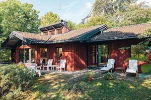 This Cozy Swedish Villa Was Designed by Haubro-Nielsen