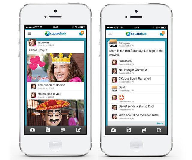 Digital Family-Organizing Apps