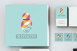 Sinhazinhas Branding Has an Edge of Abstraction for Contemporary Appeal