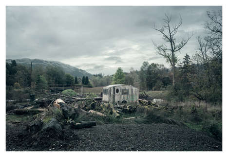 Gorgeously Bleak Landscapes - Scottish Highlands by Loic Le Quere is Dark and Mysterious