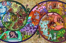 Fantasy Story-Telling Art