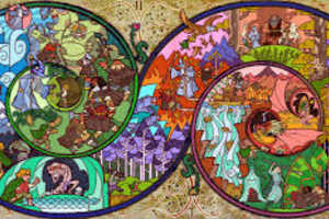 Artist Jian Guo Constructs a Line of Lord of The Rings and Hobbit Art