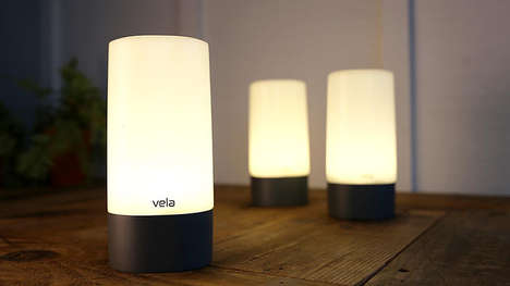 Minimalist Futuristic Lanterns - Vela by Joe VanFaasen is Versatile, Portable and Multifunctional