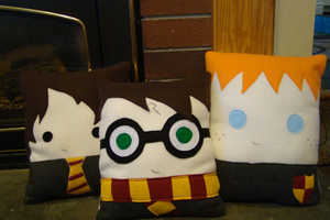 Rest Your Head on These Cute Character Pillows