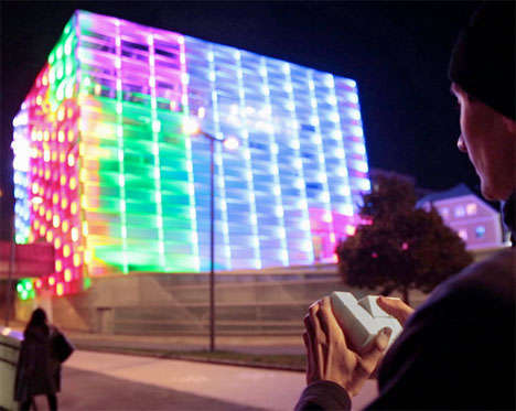 Massive Puzzle Block Buildings - The Ars Electronic Building is a Playable Rubiks Cube