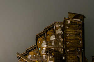 The Avoriaz Holiday Ski Resort in France Has Mysterious Architecture