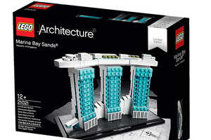 You Can Now Recreate Singapore's Marina Bay Sands with LEGO