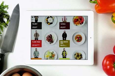 Fashion-Inspired Meals - The Uniqlo Recipe App is Inspired by Its LifeWear Philosophy Collection