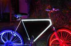 Multi-Colored Bike Lights