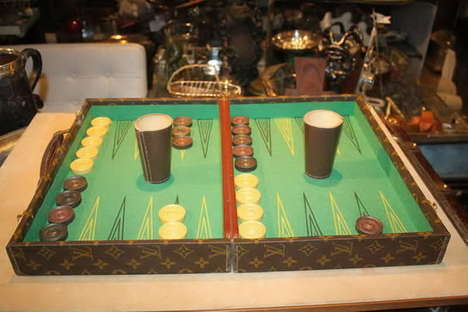 Deluxe Designer Board Games - The Louis Vuitton Backgammon Set Brings Luxury to the Traditional Game