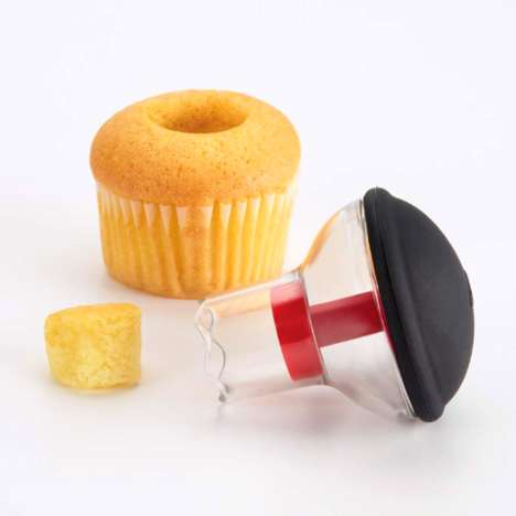 Cupcake-Filling Contraptions‏ - This Simple Cupcake Corer from OXO Takes Your Baking Skills Fu