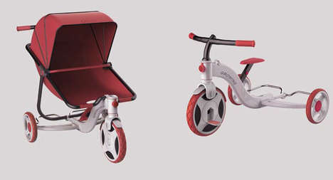 Toddler-Tailored Prams - The Growing Stroller Evolves with the Needs and Abilities of Your Child
