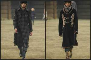 The Chanel Pre-Fall 2014 Mens Collection is Very Wild Wild West