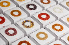 Ring-Arranged Branding - Ingredissimo Packaging Expresses Rich and Colored Texture in Circular Piles