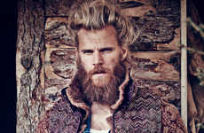 Layered Lumberjack Portrayals - The FT How To Spend It Editorial by Diego Merino is Rugged