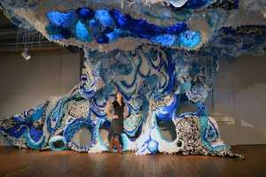 Crystal Wagner Made This Huge Sculpture from Simple Materials