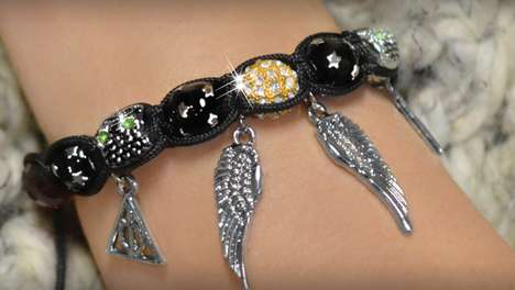 Wizard Film Charm Bracelets - Joseph Nogucci Brings a Favorite Magic Series to Jewelry Design
