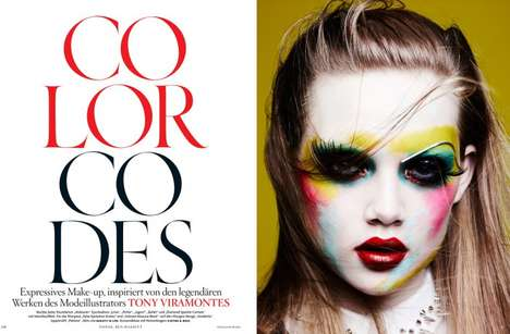 Artistically Clownish Editorials - The Vogue Germany