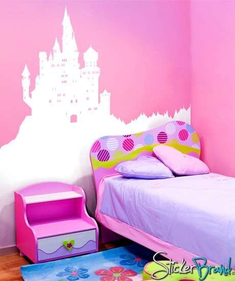 Royal Wall Decals - This Castle Wall Decal Will Make You Feel Like a Princess