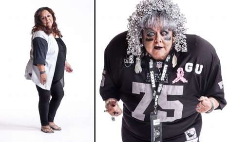 Contrasted Football Superfan Photography - Matthias Clamer Photographs the Fans of Raider Nation