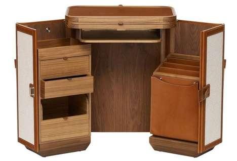 $60,000 Folding Desks - The Coffre a Lutrin Folding Desk Folds Your Wallet Wide Open
