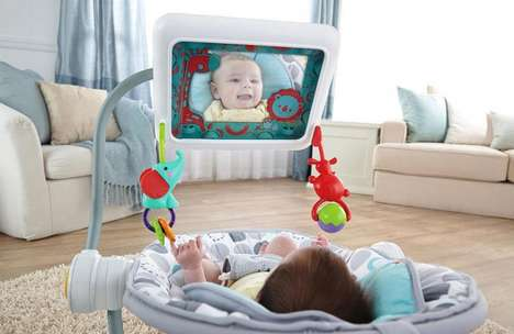 Tablet-Integrated Baby Seats - The iPad Apptivity Chair Replaces the Old Mobile with Mobile Tech