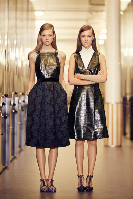 Transcendental Schoolgirl Fashions - The Erdem Pre Fall 2014 Collection is Recess Chic