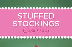 Stocking-Shaped Cake Pops