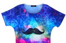 Hairy Lip Hipster Tees